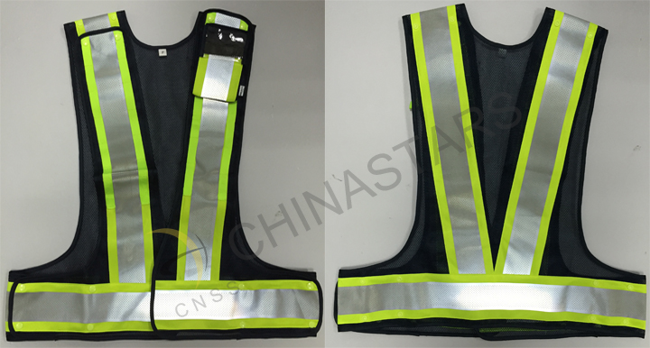 perforeated breathable reflective vest