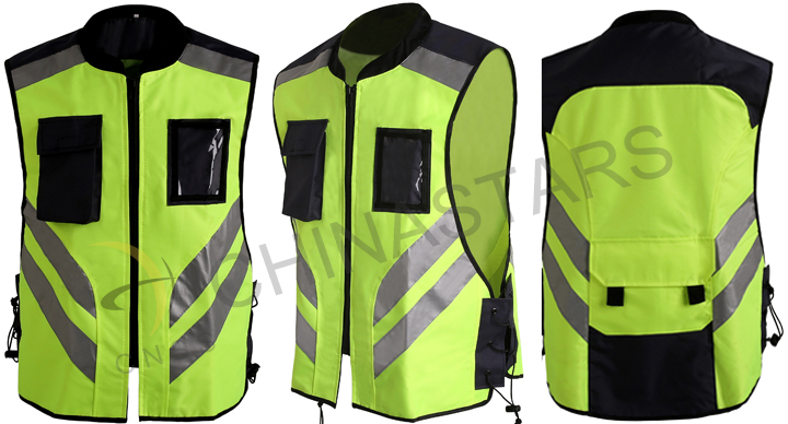 Motorcycle students get new reflective vests in Garden City