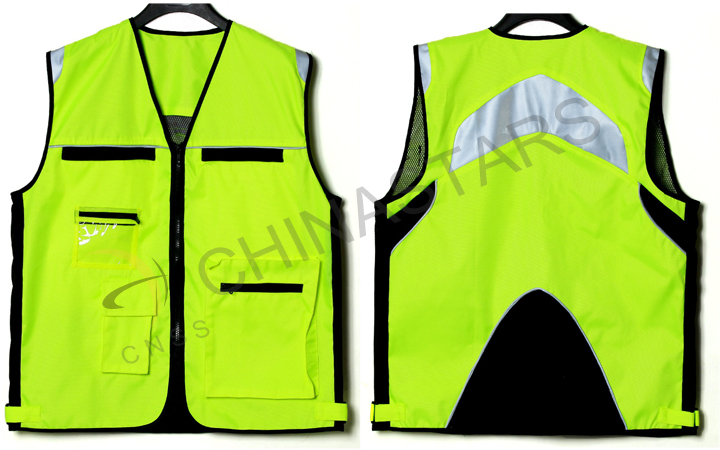 Essential equipment for riding-reflective vest