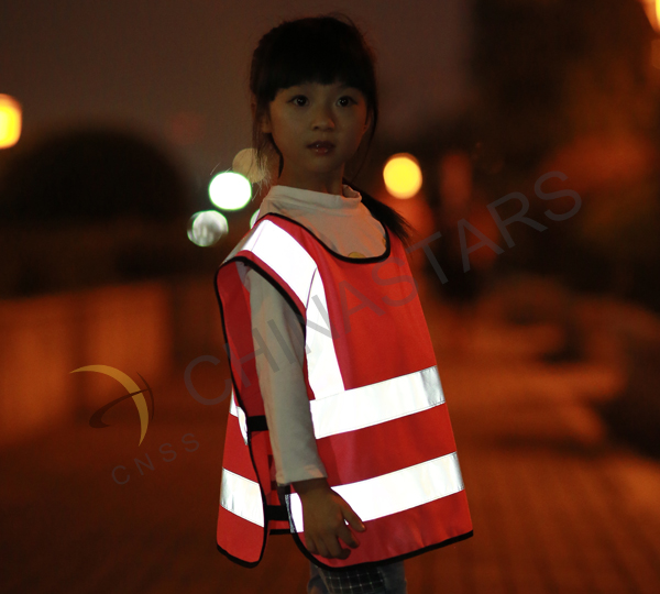 Reflective safety vests are available for Halloween