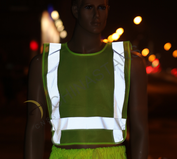 A safety vest is necessary for the construction site