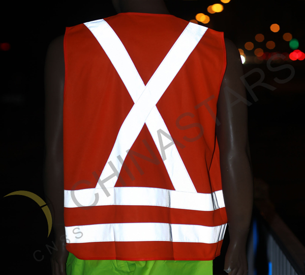 Reflective safety vest in Chile