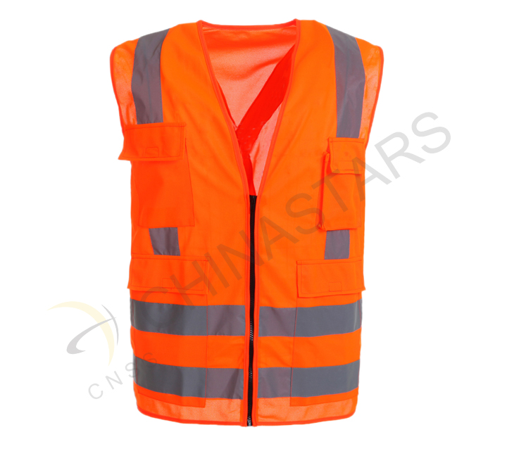 New reflective vest for traffic police
