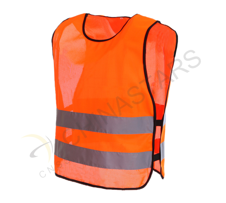 Reflective vest enhance safety of school students