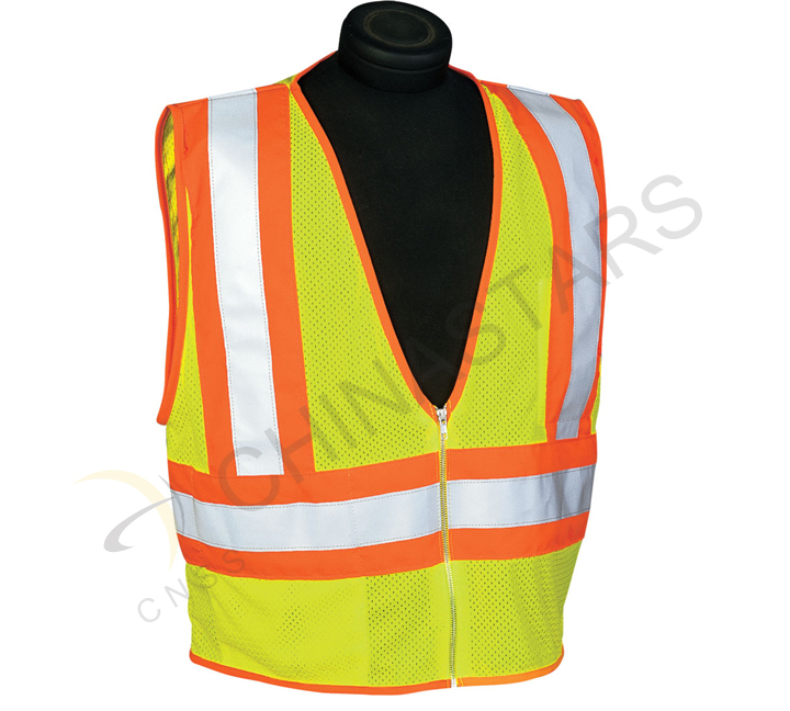 High visibility safety vest in France