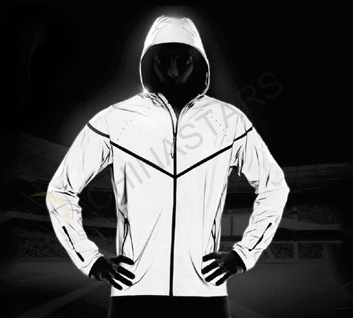 Heat Reflective Tape >> Reflective material for outdoor clothing -ChinaReflective.com