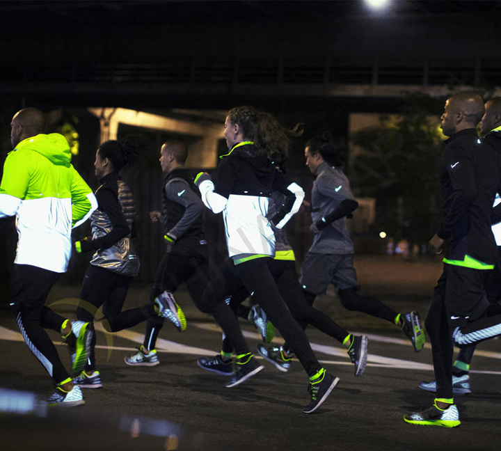 The essential goods for night running: reflective clothing