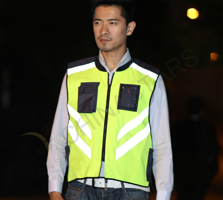 Relaxed and comfortable riding reflective clothing