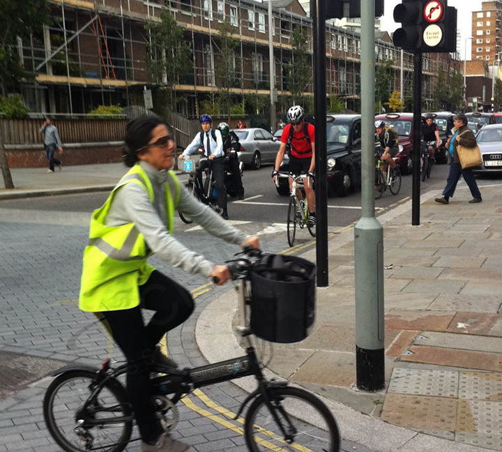 Wearing safety vest becomes mandatory for cyclist