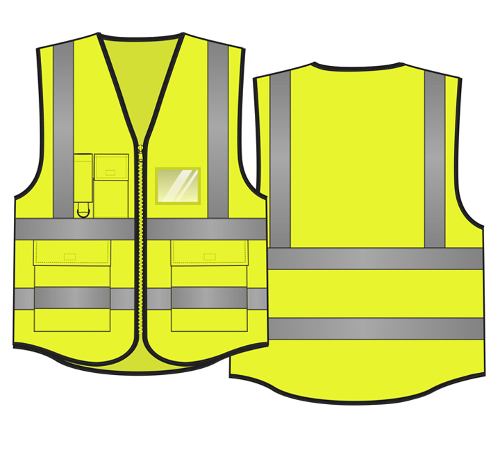 Reflective vest designs for different countries