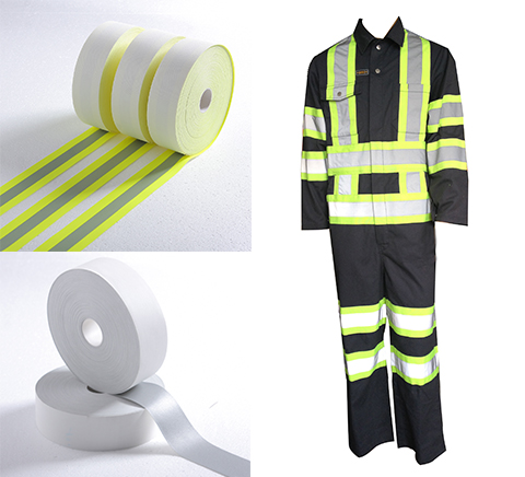 FR reflective tape for fireman uniform