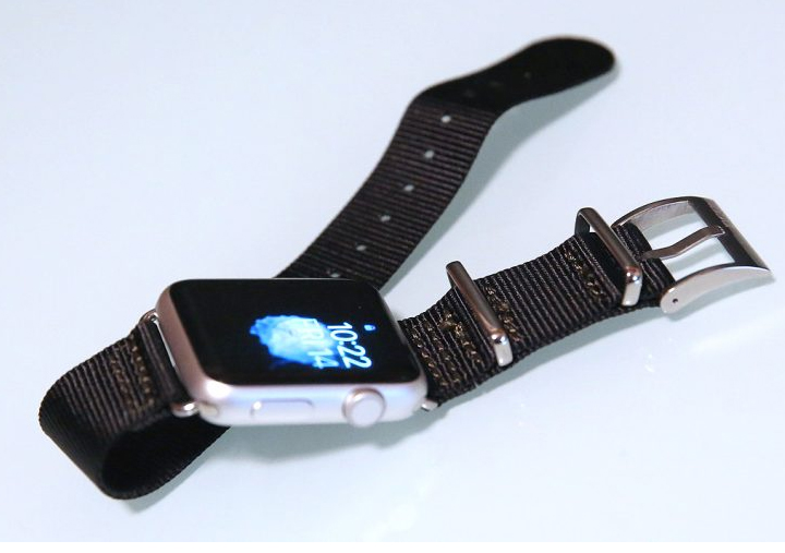 Fashionable reflective watchband