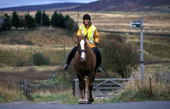 Horse riders put safety first