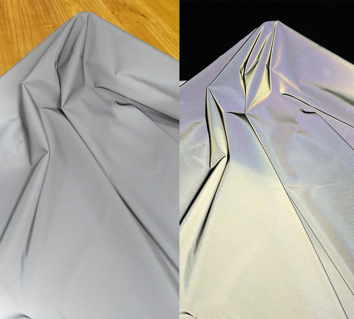 Reflective shell fabric of Chinastars