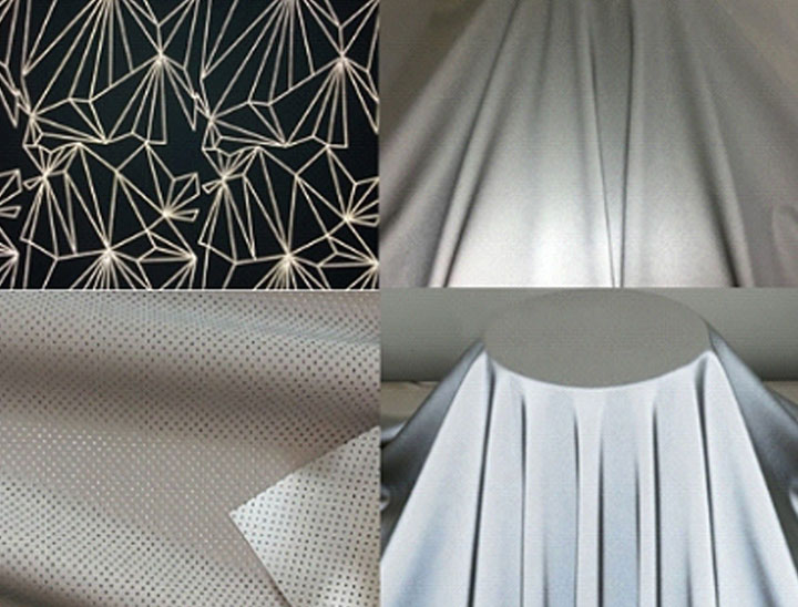 All kinds of reflective fabric