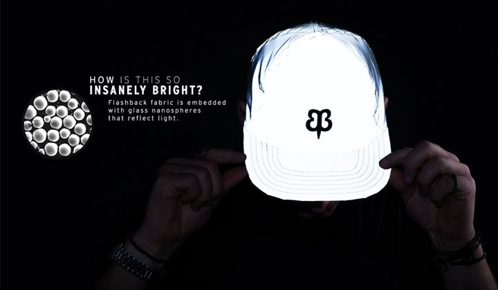 Fashion reflective hat keep your safety