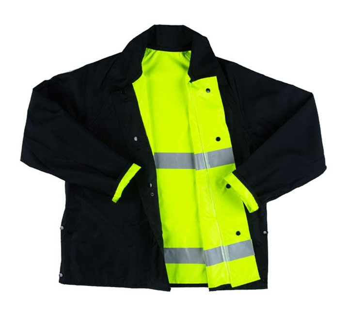 4 in one high visibility safety jacket
