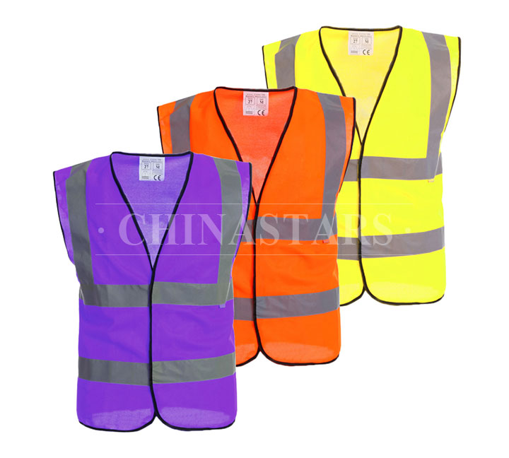 The standard of EN20471 and ANSI 107 for safety clothes