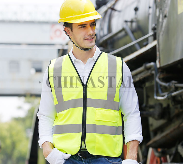 The Man in Reflective Vest