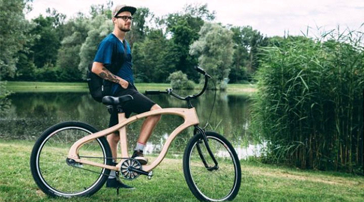 The companies making bicycles from wood