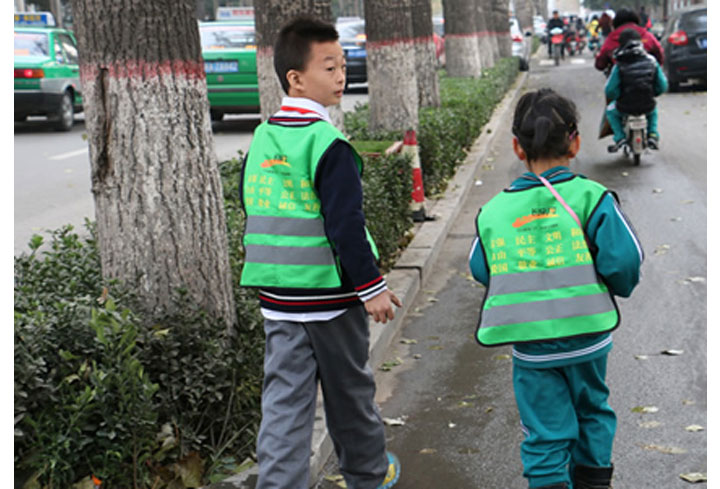 Why children need safety vests