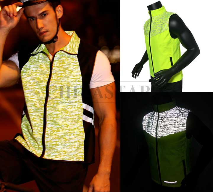 The first choice for sports fans - reflective vests