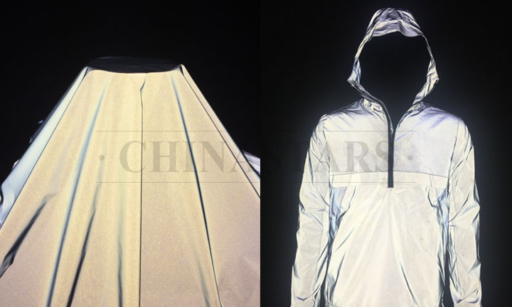 outer shell reflective fabric