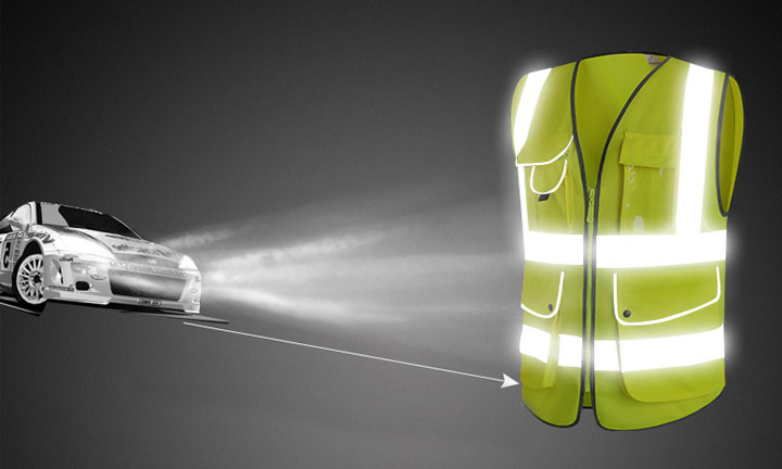 The reflective vest is required in new cars
