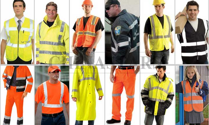 How often does reflective clothing need to be changed