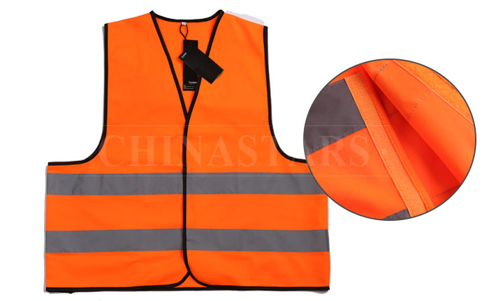 The composition of the safety vest