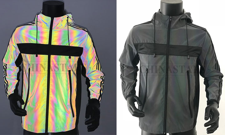 The Rainbow Reflective Material