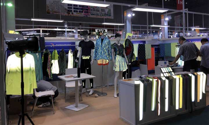 Top 5 popular reflective fabric at Intertextile Shanghai 2018
