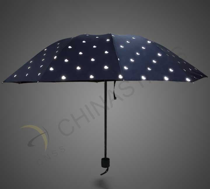 Reflective pattern umbrella