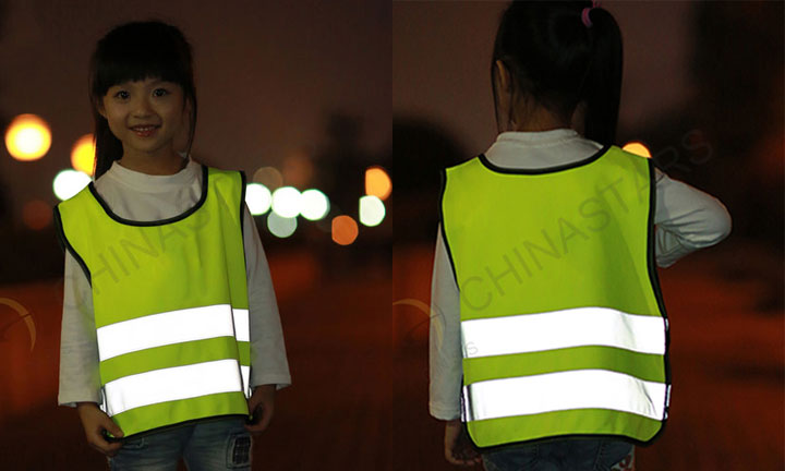 To make children more visible in the dark