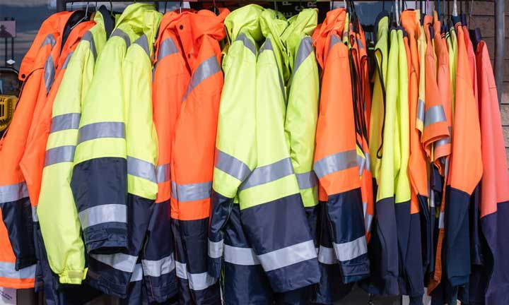 Why reflective overalls are usually fluorescent orange or yellow