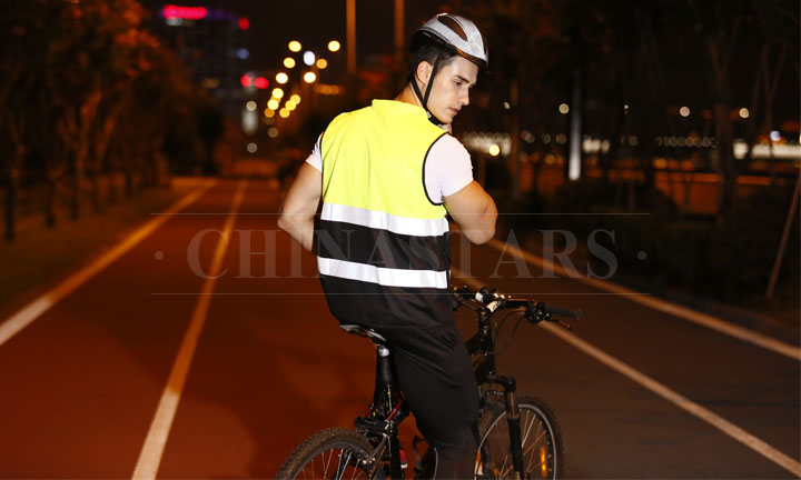Reflective vest for outdoor safety