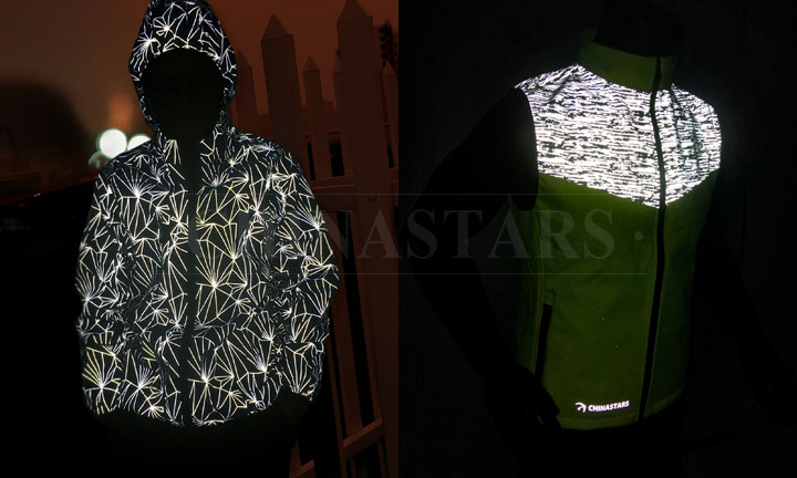Beautiful and fashionable reflective clothing