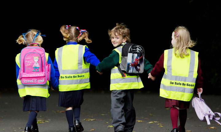 The importance of reflective strips for school uniforms