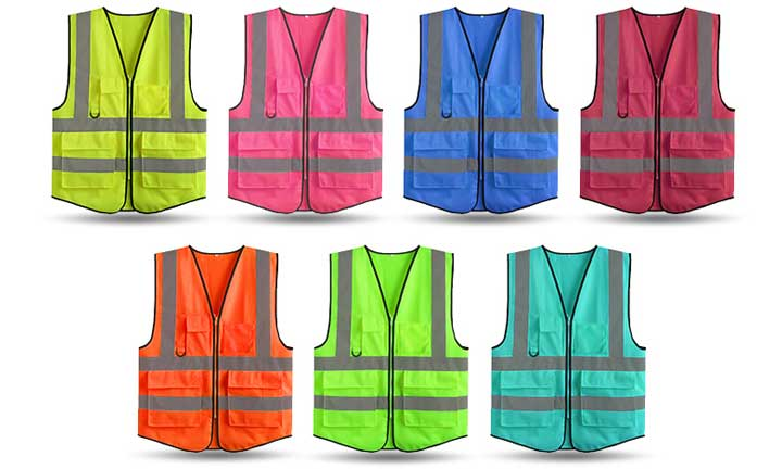 What are the tips for choosing a reflective vest