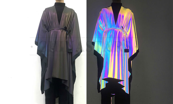 iridescent reflective fabric