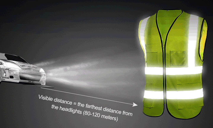 Protect yourself as a pedestrian through reflective garments