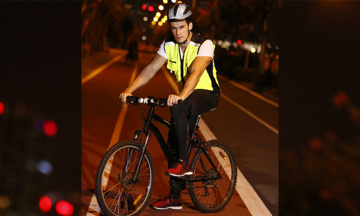 Focus on cyclists-See and be seen