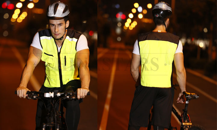 How to choose your reflective cycling vest
