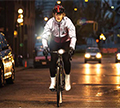Night riders: our top tips for cycling at night