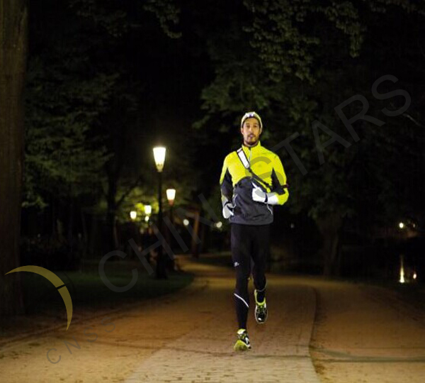 Reflective clothing for winter running