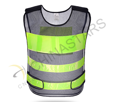 Private company donate reflective vest to Police