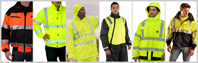 reflective safety jacket CSJ-001