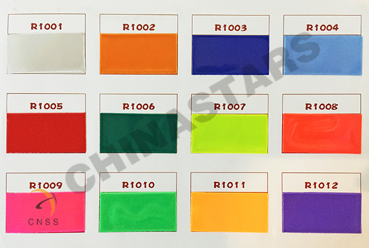 EN 13356 PVC reflective armband color