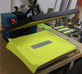 Backing fabric test now available for heat transfer material