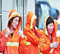 Reflective Safety clothing for Sanitation Workers